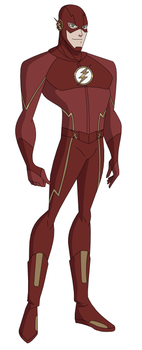 DCAU/CW: Flash by AMTModollas