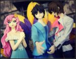 Lacus, Shinn and Kira by sentry-sight