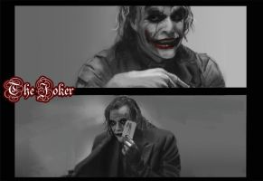 The Joker - Heath Ledger by eWKn