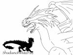 HTTYD-Angry Stormcutter sketch by ShardianofWhiteFire