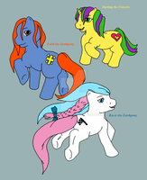 Three Little Ponies by Northspeed