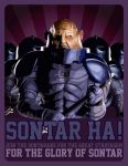 Sontarans say: Sontar Ha by tibots