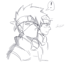 -Iruka will never notice you :U by C-Dawnav