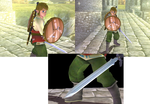 Skyloft Link in Brawl by Demonslayerx8
