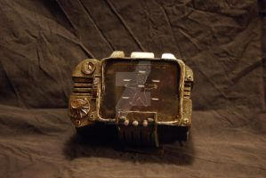Pip-boy 3000 'lights off' by iamwinterborn