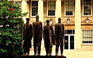 The Greensboro Four by drrckmtthws