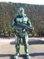 Master Chief by Jesterman