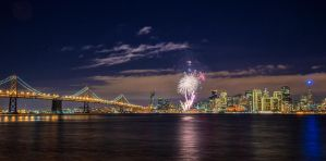 New Year Fireworks by porbital