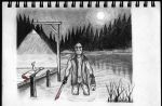 Friday the 13th Sketch by SumtimesIplaytheFool