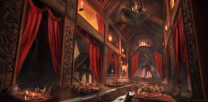 Outpost Interior by whatzitoya