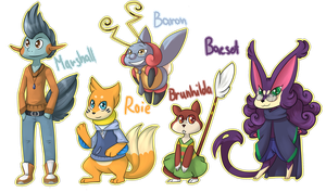 PKMN - Character requests 2# by EraGam