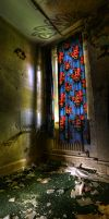 Stained Glass Curtains by wreck-photography