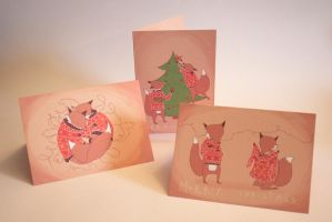 Christmas Cards 2014 by Distorted-Eye