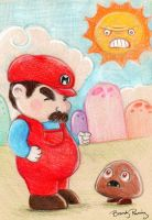 It's a me... by Zephalynne