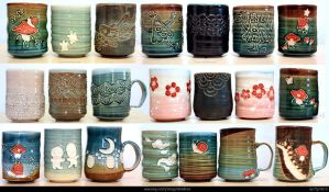End of June etsy pottery sale by skimlines