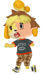 Isabelle TF TG by VGDCMario