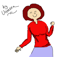 My first drawing by Vanessa28