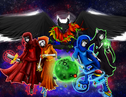 Homestuck Gods by someguy0203