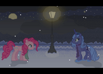 Late Night Wintry Stroll by Blue-Cup