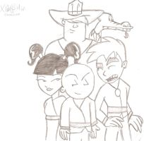 The Xiaolin Four by JimmyTwoTimes2K9