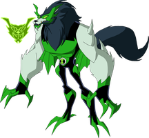 Biomnitrix Unleashed - Wolfpire by rizegreymon22