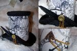 Steampunk Clock Hat by ADreamersImagination