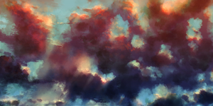 Speedpaint :: Cloudscape by MissWiggle