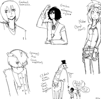 Some sketchies by 1STW