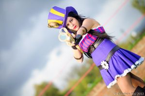 Caitlyn - League of Legends by GianlucaBini
