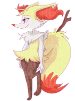 Braixen by uzumakifangirl13