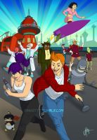 Futurama by blindbandit5