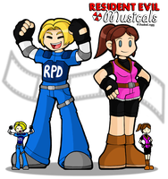 REMusicals: Leon and Claire by DoubleLeggy
