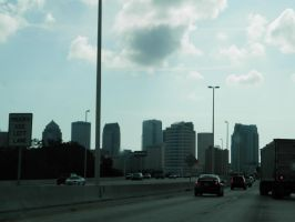 Tall Tampa Buildings by romeoandrebecca