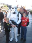 My Boys and Stormtrooper Tomorrowland Photo by EspioArtwork