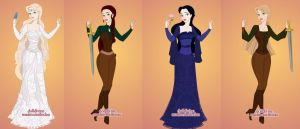 The Women of Middle Earth by Piggie50