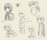 Armin Sketches by firehorse6