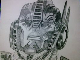 OPTIMUS PRIME TFP by SALVAGEPRIME8686