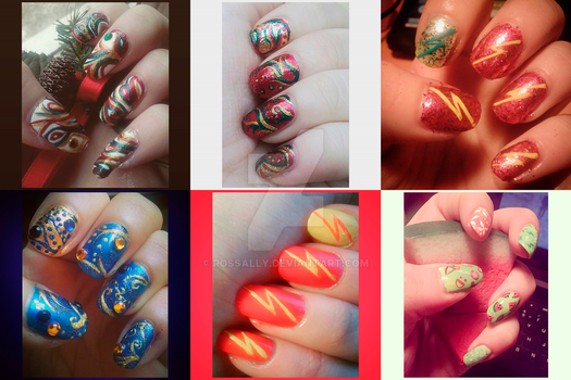 Nail art (part 13) by Rossally