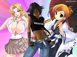 Bleach sexy girls by andrewbankai
