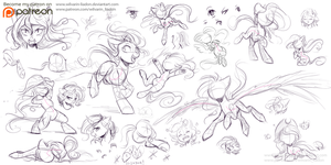 Drawing Reference #3: Different by Wilvarin-Liadon