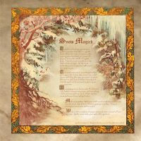 Book of Shadows First Snow of the Season by Brightstone