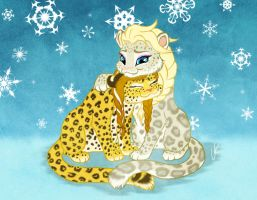 Elsanna!Leopards by Wonie