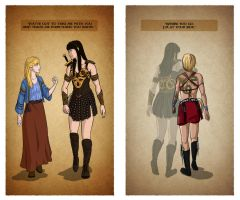 Xena - First and Last by fortheloveofpizza