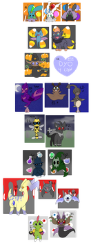 PKMNation - Halloweenie Clutch [OPEN] by starryraindrops