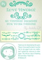 Vintage Ps brushes by NataliaLfl