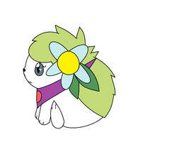 Gem The Shaymin by Feather-the-roo