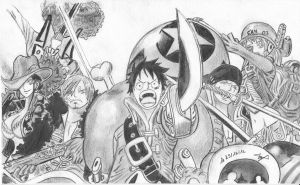 One piece  Z the film 2013 by SamAnimeMangaFR