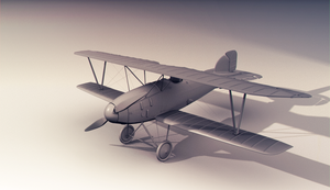 Albatros Biplane :: by Zouap