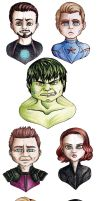 The avengers by MyaTheSquishyOctopus