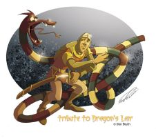 tribute to Dragon's lair by makampo